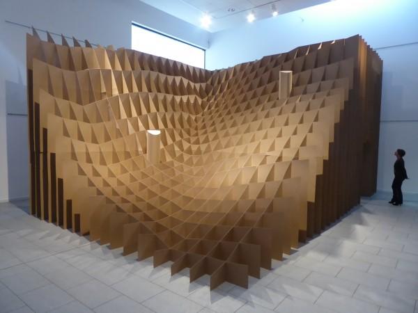 Sans titre, chez monsieur L. , plérin 2017 - Vue d'ensemble de l'installation (8mx10mx4,50m)