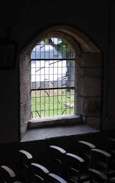 saint Nicolas - Camlez 2018 - Verrière n°06 - fond de la nef