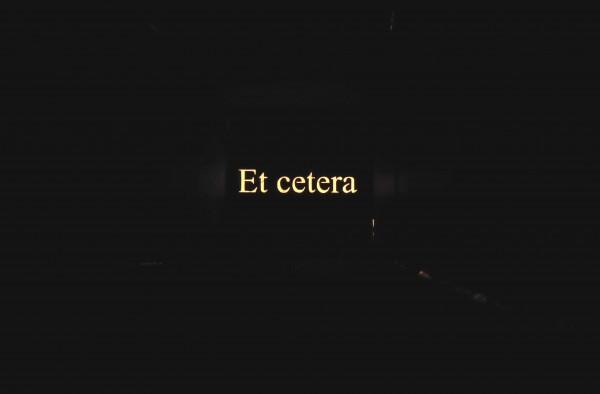 Et cetera - le Cap - Plérin 2018 - Matrice - Et cetera